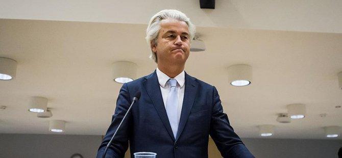 Irkçı lider Wilders, nefret söyleminden suçlu bulundu