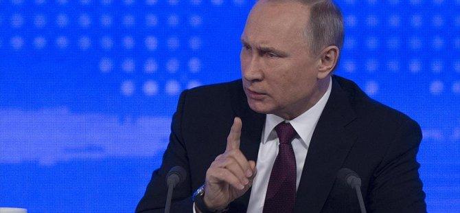 Putin'den zafer konuşması