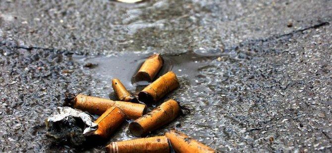 'Sigara izmariti 10 yılda çözünüyor'