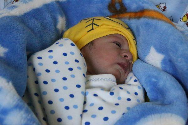 Yeni yılın ilk bebeği 'Umut'