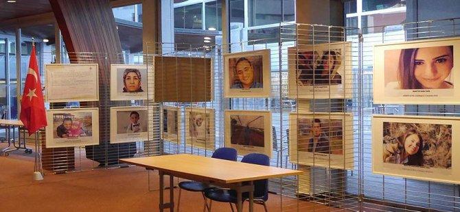 Avrupa Konseyi'nde PKK'nın katlettiği 'Yüzler' sergilenecek