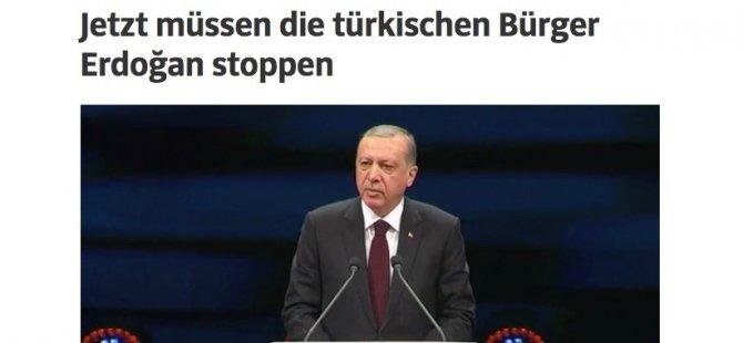'Şimdi Erdoğan'ı Türk halkı durdurmalı'