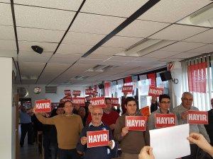 CHP Avusturya'dan 'hayır' kampanyası