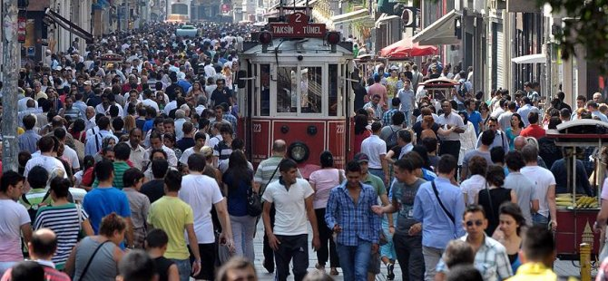 Türkiye'nin nüfusu 80 milyon sınırında