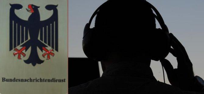 Alman istihbaratı yabancı gazetecileri de dinlemiş