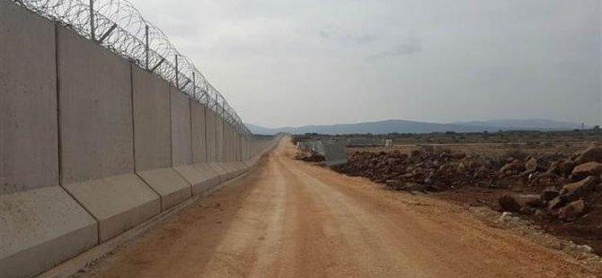 Türkiye, Suriye sınırına duvar ördü