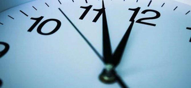 'Tek saat' için referanduma gidilecek