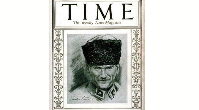 Time dergisi Ata'yı kapağına taşıdı