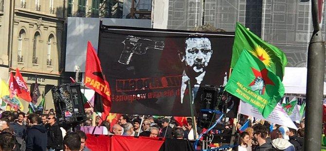 İsviçre'de Erdoğan'ı hedef gösterdiler