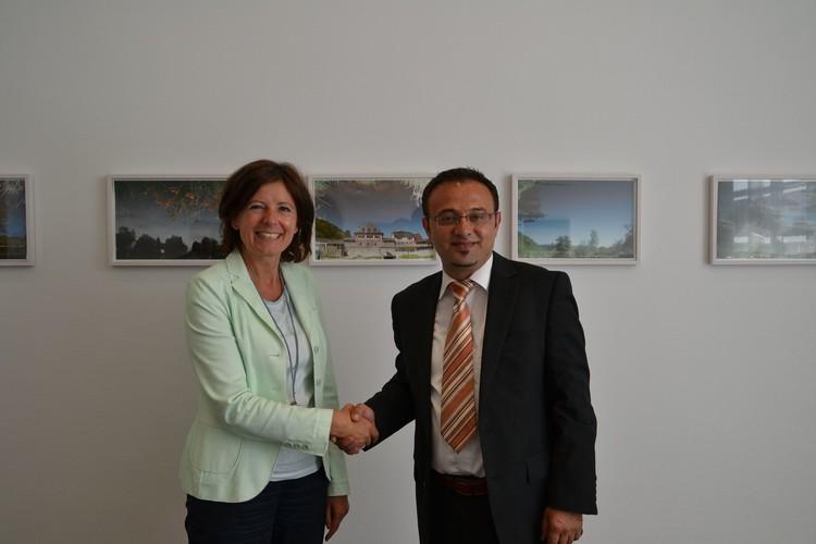 Özdemir'den başbakana ziyaret