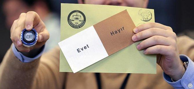 Mühürsüz oylar yasalaştı