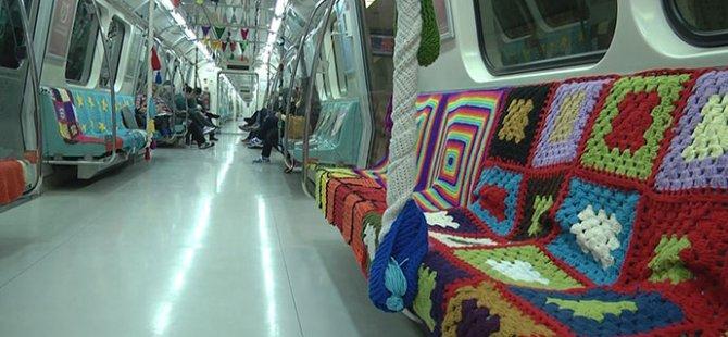 Metroya anne eli değdi