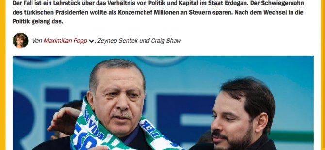 Spiegel: Erdoğan'ın damadının Dubai'deki milyonları