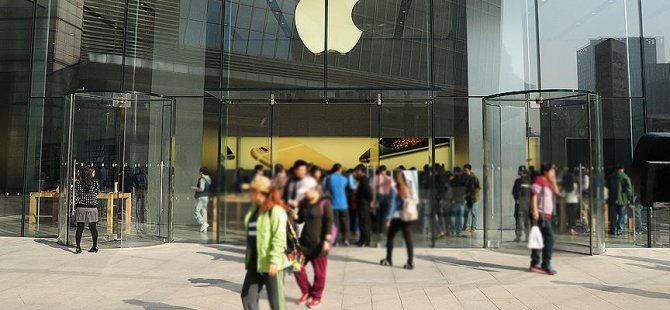 Çinliler için Apple kullanmak bir utanç