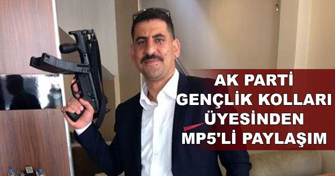 AKP'li yöneticiden silahlı tehdit