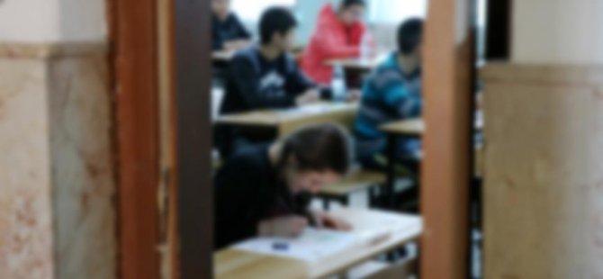 Lisede anket skandalı