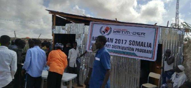 Gurbetçilerden Somali'ye yardım