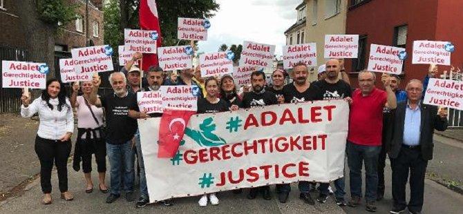 CHP'den Almanya'da 'Adalet Yürüyüşü'