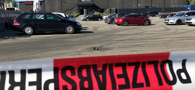 Türk marketine silahlı saldırı
