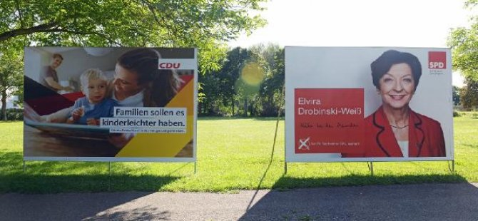 Almanya'da mektupla oy verme işlemi başladı