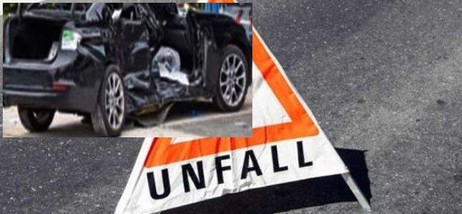 Gurbetçi aile sıla yolunda kaza yaptı: 3 ölü