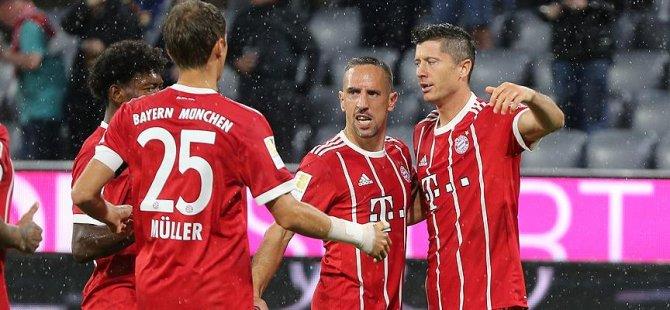 Bayern Münih galibiyetle başladı
