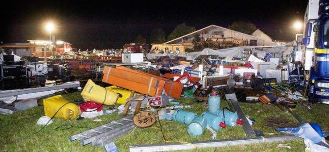 Avusturya'da panayır çadırı devrildi: 2 ölü, 120 yaralı
