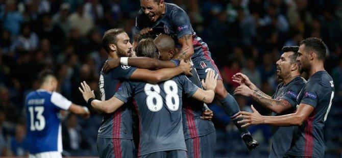 Beşiktaş, Avrupa'da galibiyetle başladı