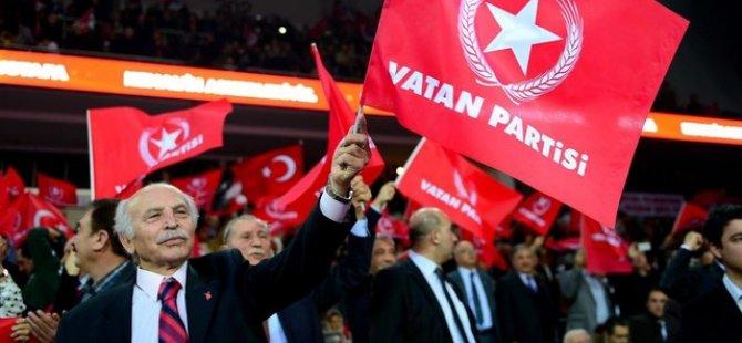 Vatan Partisi: Tayyip Erdoğan'ı yedirmeyiz