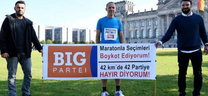 BİG her kilometrede bir partiyi protesto edecek