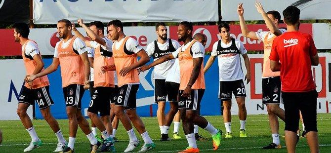 Beşiktaş'ta Leipzig maçına hazırlanıyor