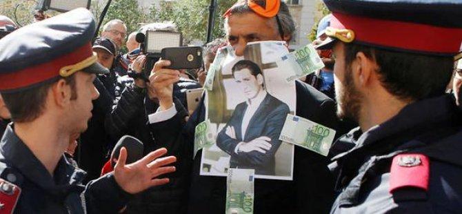 İlk 'burka' cezası Kurz'un maskesine kesildi