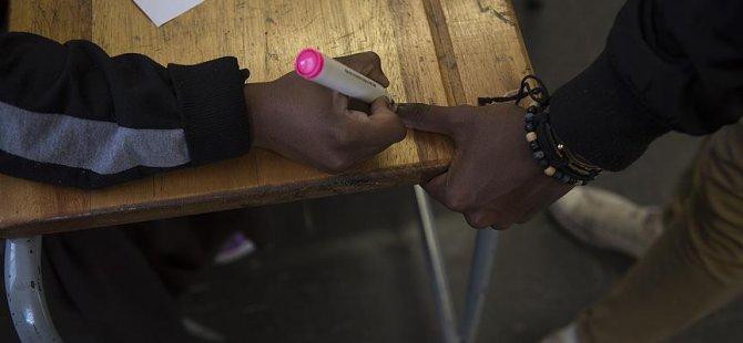 Liberya'da halk sandık başında