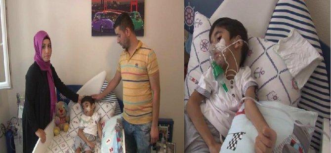 Ömer'in yaşam umudu Almanya'daki ilaçta
