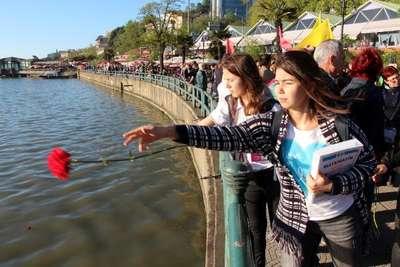 Zonguldak'ta Deniz Gezmiş ve arkadaşları anıldı
