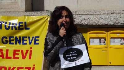 Cenevre'de Alevi derneklerinden 'Suriye'deki katliamlara sessiz kalma!'  çağrısı