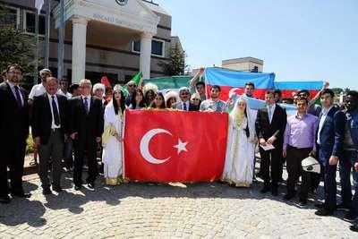 Kocaeli Üniversitesi'nde Uluslararası Öğrenci Buluşması