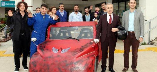 Erdoğan Üniversitesi araba yaptı