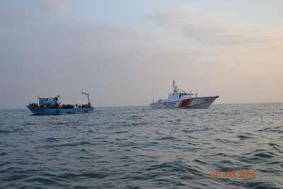 'ALO-158 Sahil Güvenlik İhbar Hattı'nı aradı, 174 kişinin hayatını kurtardı