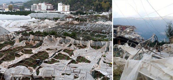 Antalya'da hortum felaketi: 38 yaralı