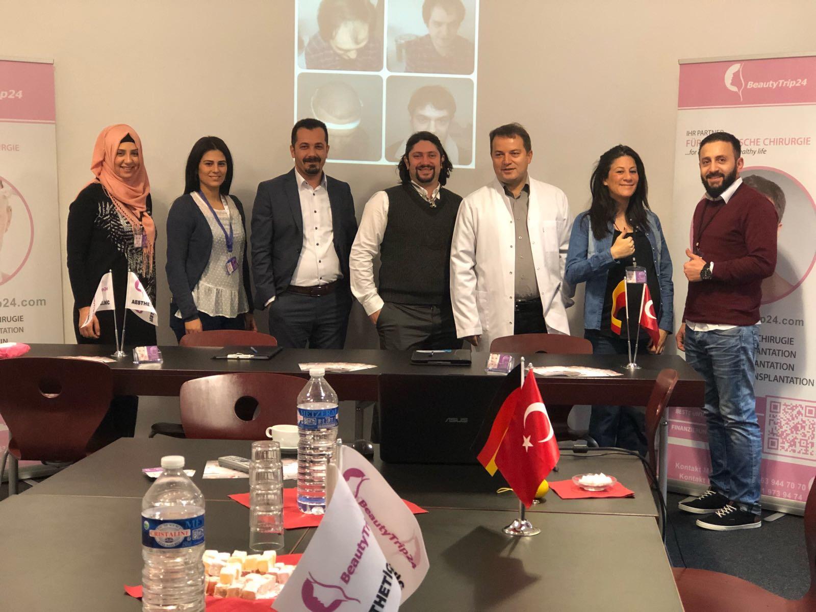 Türkiye'de tedaviye büyük ilgi