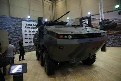 Otokar'dan KBRN saldırıları için özel araç