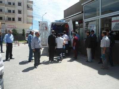 Kahta'da otomobil dereye düştü: 5 yaralı