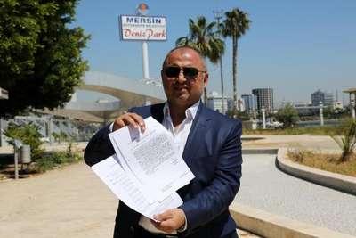 Mersin Deniz Park'ın yıkımına suç duyurusu