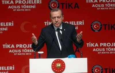Cumhurbaşkanı Erdoğan, TİKA'nın Toplu Açılış Töreni'ne katıldı (2)