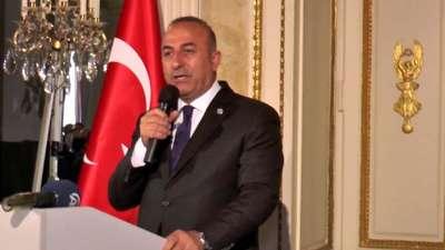 """Dışişleri Bakanı Çavuşoğlu, Münih'te """"Memleketim""""i tanıttı"""