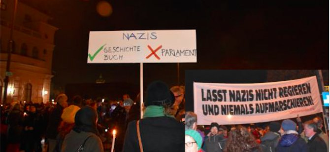 'Parlamentoda Nazilere hayır'