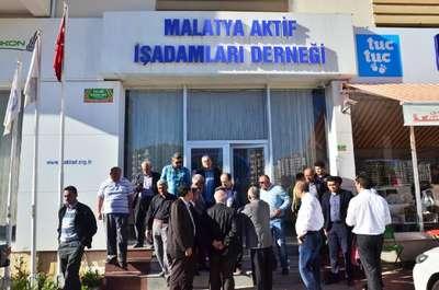 Malatya'da işadamları derneğine polis baskını