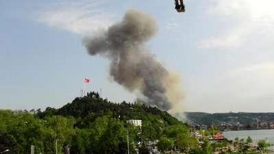 Erdemir'de patlama: 3 işçi yaralandı