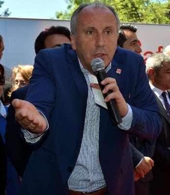CHP'li İnce'den Cumhurbaşkanı Erdoğan'a: Muaviye'nin askeri misin de meydanlara Kuran'la çıkıyorsun?